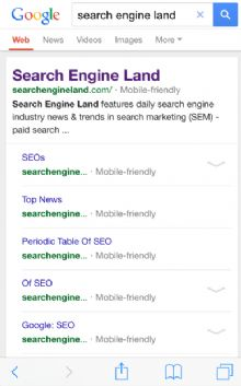 谷歌移动搜索:用户体验度低的站点要惨了?推荐用户体验度高的移动站点