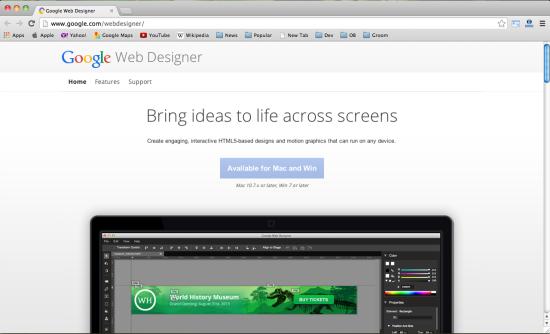 资源分享:10款超棒的HTML 5在线设计工具